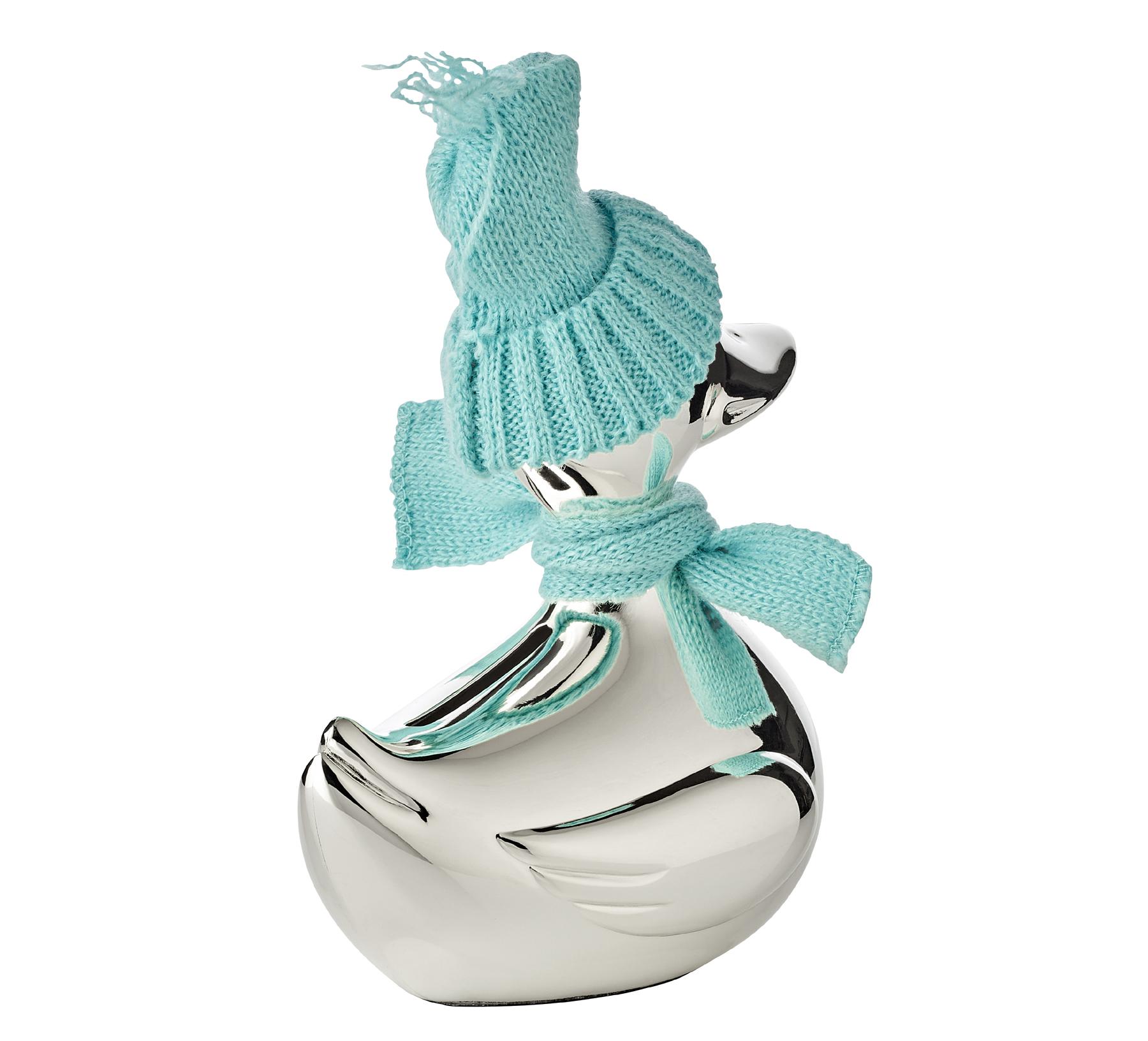 Money box piggy bank duck silver scarf cap blue pink engraving christening ebay - Engraved silver piggy bank ...