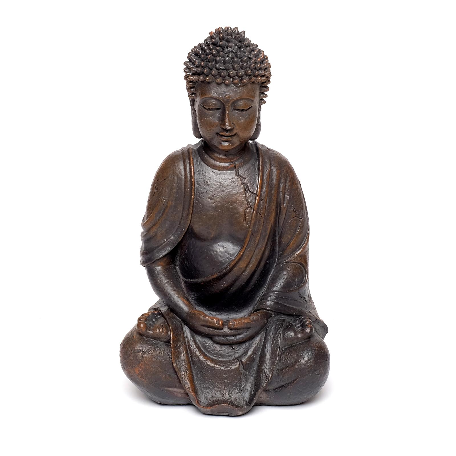 Thai buddha figur statue dekoration vintage schlafzimmer for Buddha figur