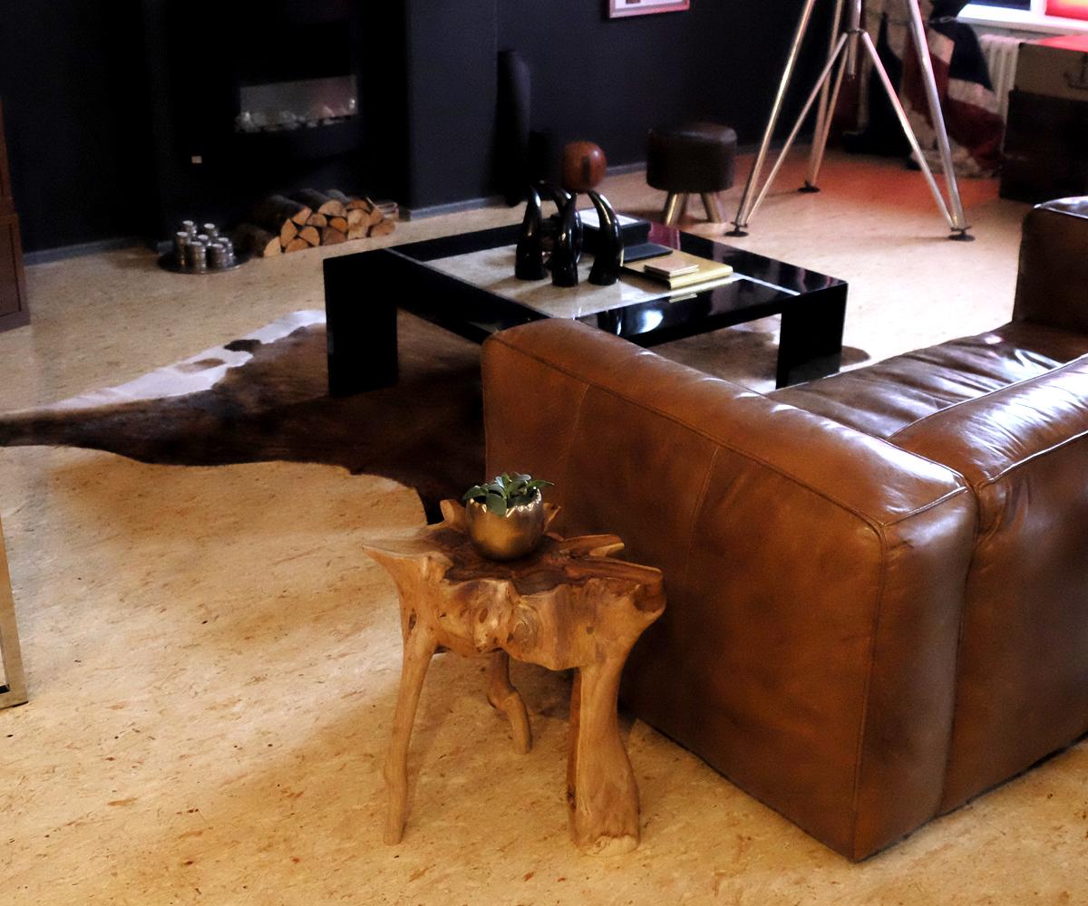 beistelltisch teakholz couchtisch hocker wurzeltisch tisch holz massiv schwer ebay. Black Bedroom Furniture Sets. Home Design Ideas