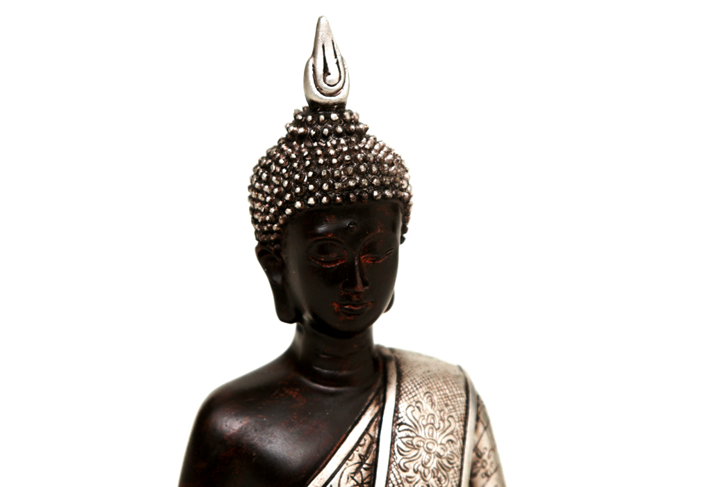 thai buddha figur skulptur deko xl sitzend betend klein. Black Bedroom Furniture Sets. Home Design Ideas