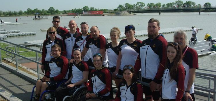 Großes Starterfeld beim Weltcup und Paralympic Qualifier der Parakanuten